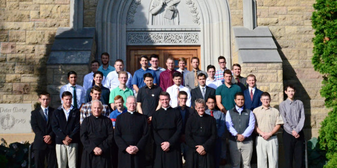 Encouraging Results from Holy Angels Novitiate after Men's Vocation Retreat