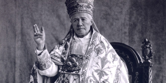 A Celebration of Pope St. Pius X on His Feast of September 3