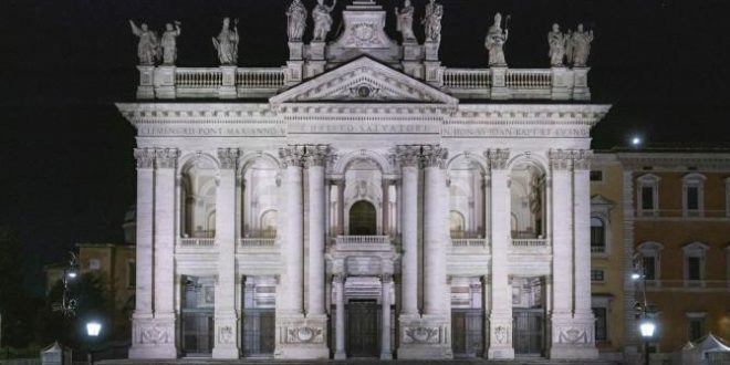 The Lateran Basilica Now Shines Brightly