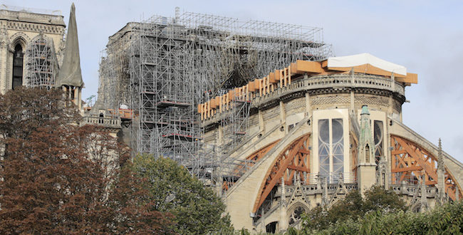 Restoration of Notre-Dame de Paris: Between Hope and Anxiety