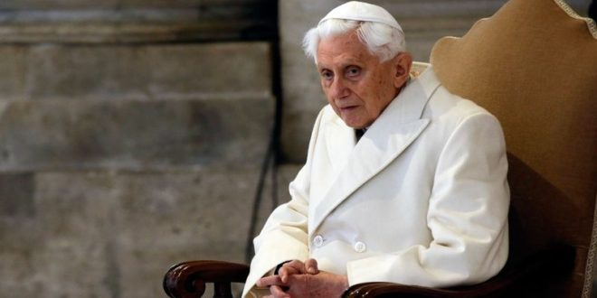 The Synodal Path to a German National Church (6): Benedict XVI's Reaction