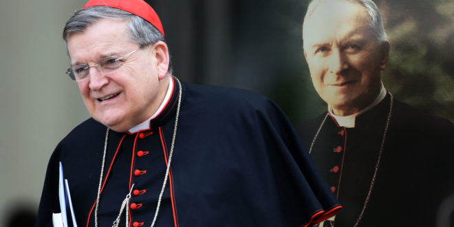 Who Said It? Cardinal Burke or Archbishop Lefebvre?
