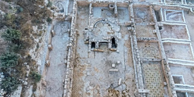 A Sixth Century Byzantine Shrine Has Been Excavated in Judea