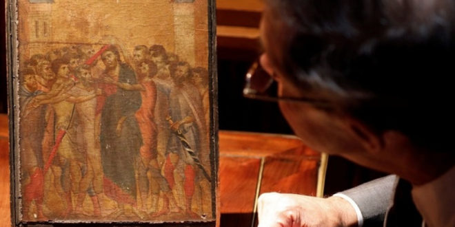 "France: Cimabue's ""Mocking of Christ"" Sells for 24 Million Euro"