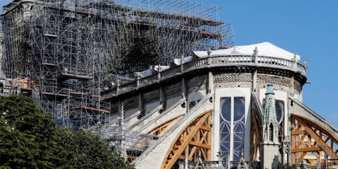 Notre Dame: Work Will Resume in Early 2021