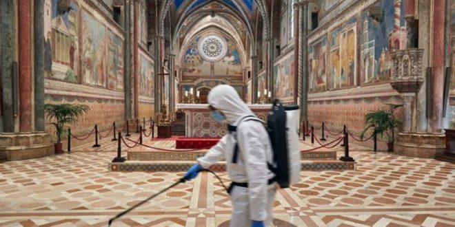 Pontifical Council for Culture Concerned About the Use of Cleaning Products in Church