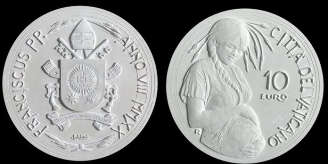 The Holy See Strikes a Coin Bearing a Disturbing Image