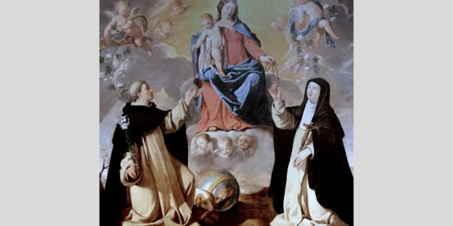 I am Our Lady of the Rosary