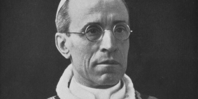 Pius XII: Putting an End to the Black Legend