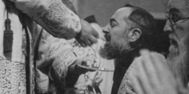 The Holy Eucharist and Communion on the Tongue